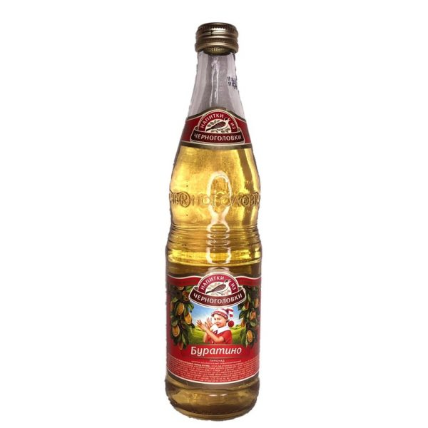 Nápoj Černogolovka Buratino 0,5 L