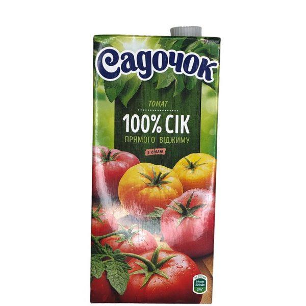 Rajčatová Šťáva Sadočok 950 ml.